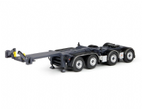 Tekno 2-axle 20ft combitrailer with dolly for Road train combi